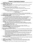 BIOL 2050 Lecture Notes - Phenotypic Trait, Quantitative Genetics, Mendelian Inheritance