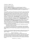 CHEM 1500 Chapter Notes - Chapter 5: Magnesium Chloride, Strong Electrolyte, Alkali Metal