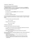 CHEM 1500 Chapter Notes - Chapter 4: Triethylene Glycol, Chemical Equation, Nitric Oxide