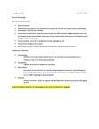 BIOL 153 Lecture Notes - Sliding Filament Theory, Endoplasmic Reticulum, Skeletal Muscle