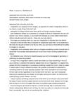 Philosophy 2200F/G Lecture Notes - Empiricism, Tabula Rasa, Ob River