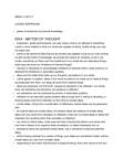 Philosophy 2203E Lecture Notes - Tabula Rasa, Ob River