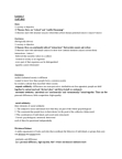 SOC203H1 Lecture Notes - Lecture 3: Mechanical And Organic Solidarity, Anomie