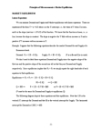 ECO100Y5 Lecture Notes - Price Floor, Economic Equilibrium, Ceteris Paribus