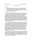 HIS244H1 Lecture Notes - Lecture 10: Age Of Enlightenment, Personal Affair, Toleration