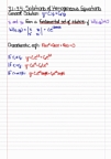 Math 310 - Chapter 3.1, 3.2, 3.3, 3.4 (Solutions Of Homogeneous Equations)