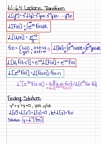 Math 310 - Chapter 6.1 - 6.4 (Laplace And Step Functions)