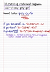 Math 310 - Chapter 3.5, 3.6, 3.7 (Nonhomogeneous Equations)
