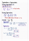 Math 310 - Chapter 7.5, 7.6, 7.8 (Linear Equations) + 9
