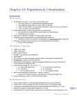 SOCA02H3 Lecture Notes - Rio De Janeiro, Mortality Rate, Malthusian Trap
