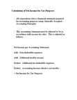 ECON 4400 Lecture Notes - Financial Statement, Weighted Arithmetic Mean