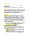 PSYA01H3 Chapter Notes -Classical Conditioning, Habituation, Orienting Response