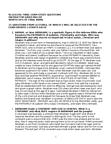 RLG101H5 Study Guide - Mysterium Tremendum, Who I Am (Abraham Mateo Album), Israelites