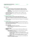 MGHB02H3 Lecture Notes - Total Quality Management, Organizational Commitment, Centrality
