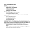 Lecture 9 notes: Malaria and AIDS orphans in Africa LECTURE NOTES AND SUPPLEMENTARY READING NOTES