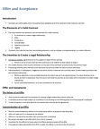 MGSC30H3 Lecture Notes - Meeting Of The Minds, Electronic Document, Click Wrap