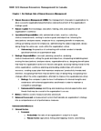 MHR 523 Chapter Notes -Human Relations Movement, Workforce Planning, Videotelephony