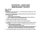 ADMS 2500 Study Guide - Midterm Guide: Cash Flow Statement, Subledger, Mark Sense