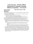 ADMS 2500 Study Guide - Midterm Guide: Bank Reconciliation, Cash Flow Statement, Basis Of Accounting
