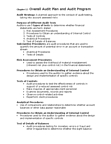 BUS 426 Chapter Notes - Chapter 12: Audit Evidence, Internal Control, Financial Statement