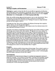 PSY220H1 Lecture Notes - Out-Group Homogeneity, Cognitive Miser, Cognitive Dissonance