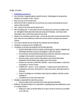 PSYB65H3 Lecture Notes - Spinal Cord, Peripheral Nervous System, Olfactory Bulb