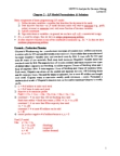 MGOC10H3 Lecture Notes - Nonlinear Programming, Integer Programming, Production Planning