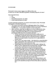WDW101Y1 Lecture Notes - Middle White, Essentialism, Spermatozoon