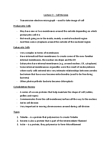 Biology 1001A Lecture Notes - Transmission Electron Microscopy, Nuclear Membrane, Nucleoid