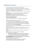 SOCA02H3 Lecture Notes - Lecture 4: Charismatic Authority, Traditional Authority, Ultimate Power