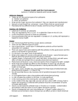 EESA10H3 Lecture Notes - Foodborne Illness, Sulfur Oxide, Passive Smoking
