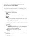 EESA10H3 Lecture Notes - Risk Assessment, Scenario Planning, Health Canada
