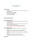 AGST 1000 Lecture Notes - Siltation, Fire Regime, Neolithic Revolution