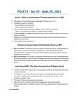 POLC73H3 Lecture Notes - John Stuart Mill, James Mill, Liberty
