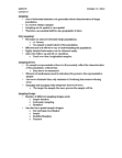 GGR270H1 Lecture Notes - Statistical Inference