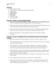 BISC 101 Chapter Notes -Biuret Test, Dialysis Tubing, Paper Towel