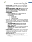 PSY 120 Lecture Notes - Child, Family Therapy, Viktor Frankl