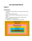 CSE 1520 EXAM NOTES (A-E).docx