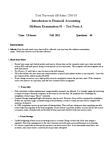 ADMS 2500 Study Guide - Midterm Guide: Trial Balance, Promissory Note, Interest Expense