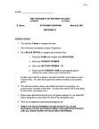Economics 1021A/B Study Guide - Midterm Guide: Economic Equilibrium, Average Variable Cost, Fixed Cost