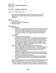 POL312Y1 Lecture Notes - Liberal Internationalism, Multilateralism, Middle Power