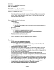 POL337Y1 Lecture Notes - Limited Government, Responsible Government