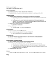 BIO328H5 Lecture Notes - Jane Goodall, Falsifiability, Intelligent Design