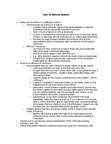 Kinesiology 3480A/B Lecture Notes - Brenda Milner, Temporal Lobe, Neurosurgery