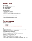 NROB60H3 Lecture Notes - Voltage-Gated Potassium Channel, Resting Potential, Oscilloscope