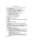 BIOL 1010 Study Guide - Midterm Guide: Cellular Respiration, Sister Chromatids, Semipermeable Membrane