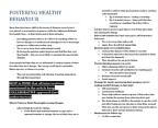 NUR1 220 Lecture Notes - Health Promotion