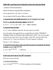 GMS 401 Study Guide - Learning Curve, Graph Paper