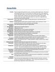 BIOL 2030 Lecture Notes - Parapodium, Oligochaeta, Coelom