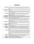 BIOL 2030 Lecture Notes - Occipital Condyle, Ovoviviparity, Lizard